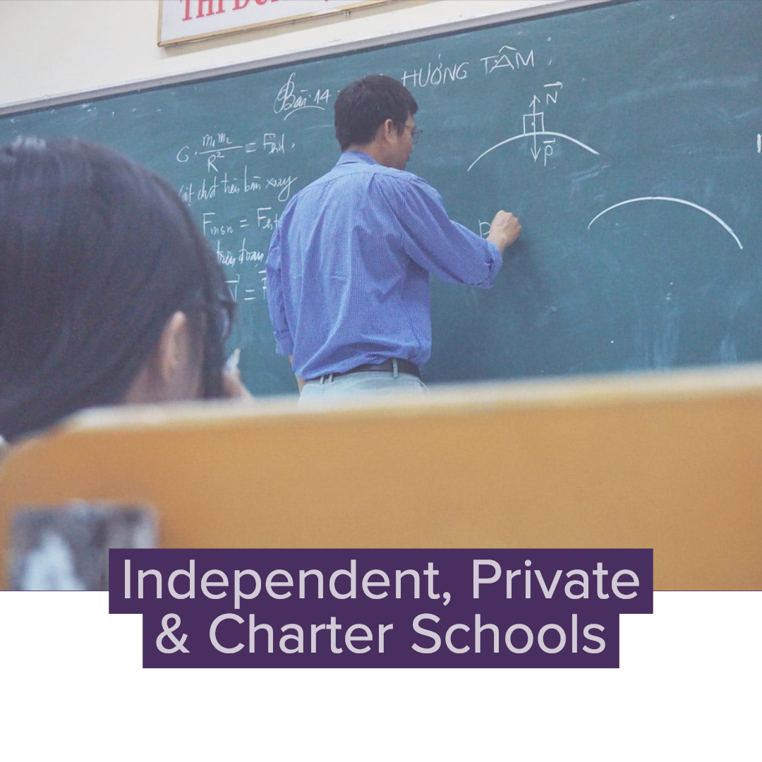 Independent, Private & Charter Schools