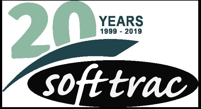 Soft Trac 20 Years Logo