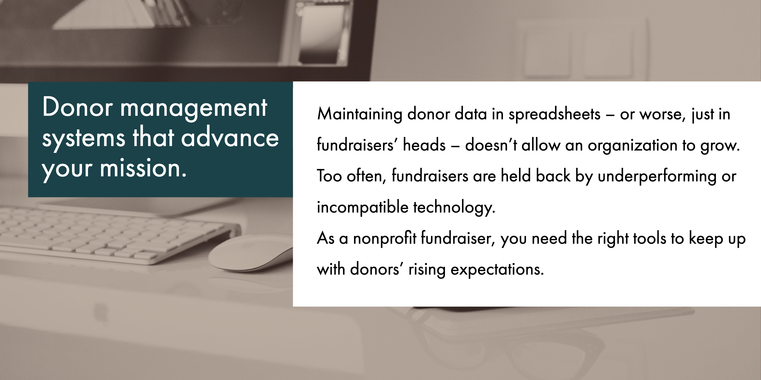 donor management info
